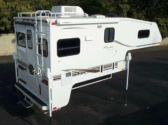 Short Bed Truck Camper Used