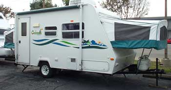 Keystone Cabana Hybrid Travel Trailer