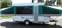 25ft camping trailer