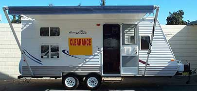 RoadRunner travel trailer
