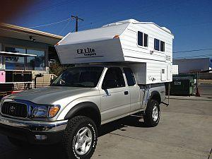 Ez Lite Compact Truck Camper
